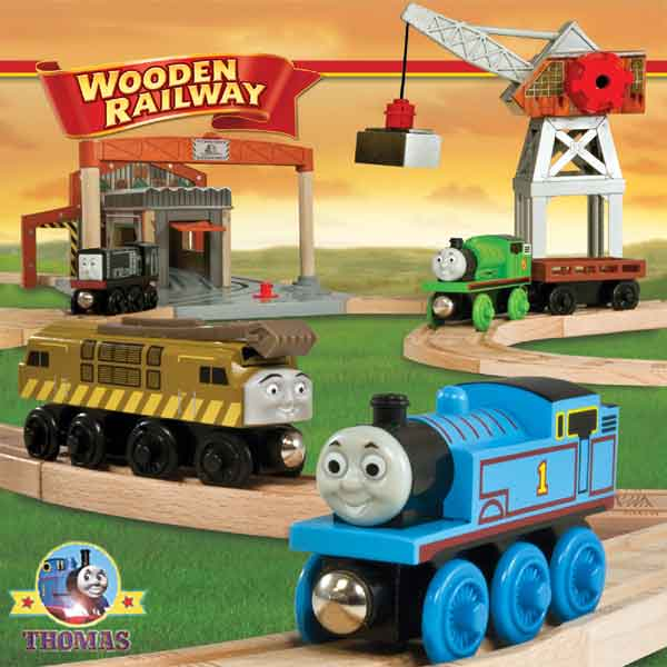 Thomas and Friends wooden railway