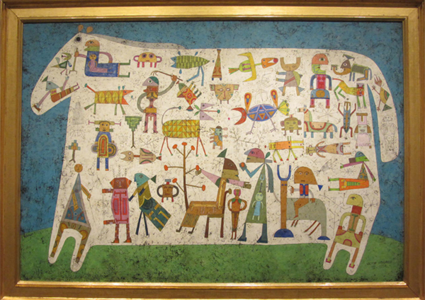 Prelude to a Civilization, Victor Brauner, 1954