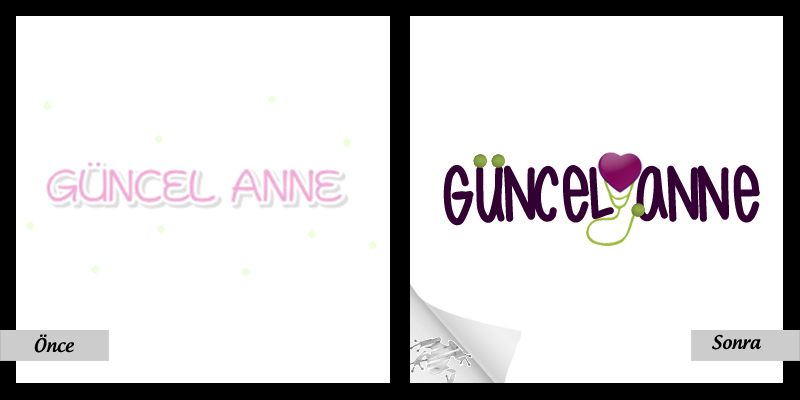 Güncel Anne Logo – Before/After